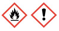 Desinfektionsmittel-Gefahrzeichen